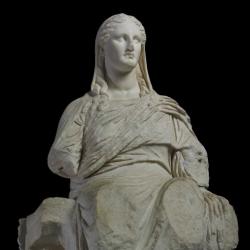 Statue of the goddess Demeter
